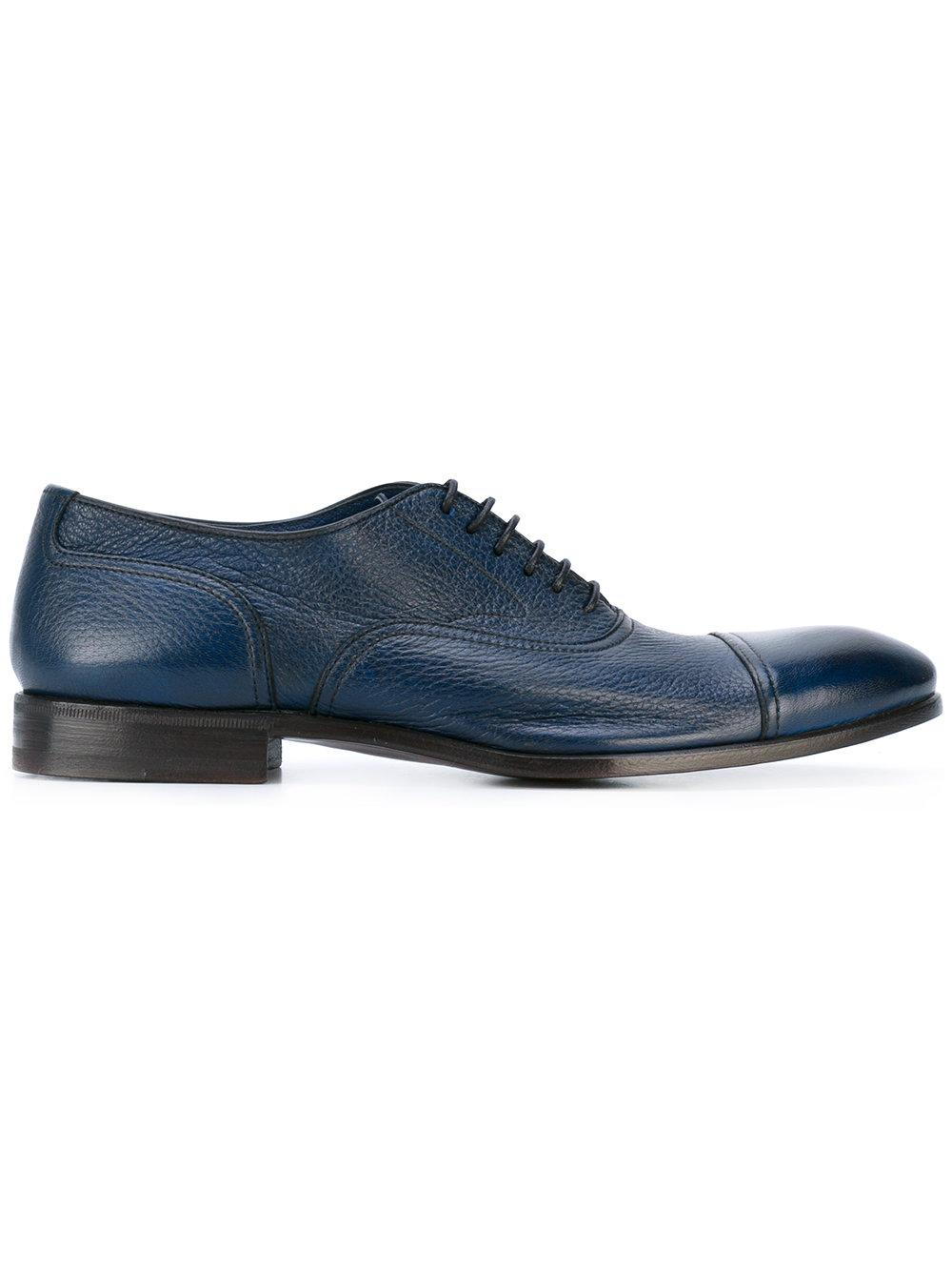 Henderson Oxford Shoes In Blue For Men | Lyst