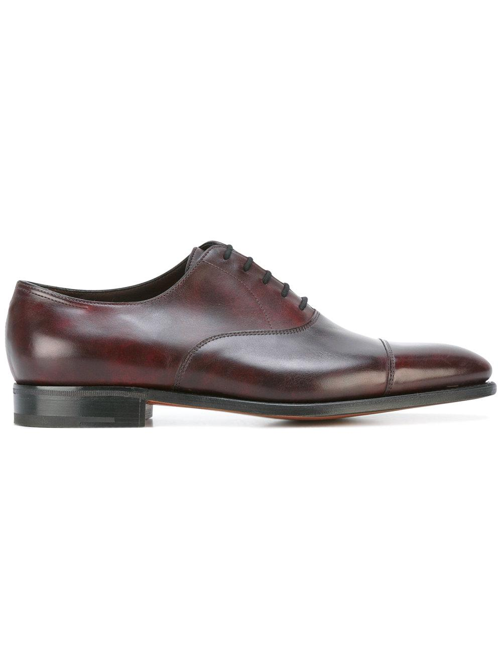 Dark Brown Leather Formal Shoes