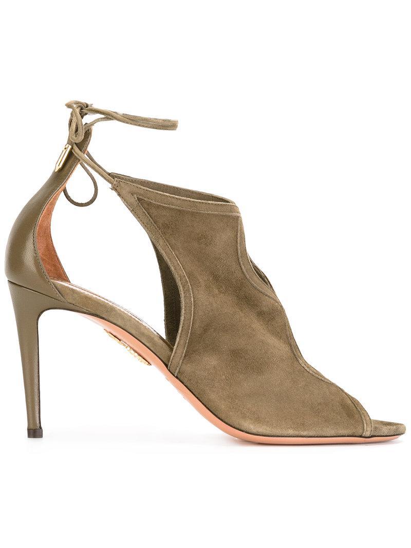 Nomad sandals - Green Aquazzura gE7hEFLNSi