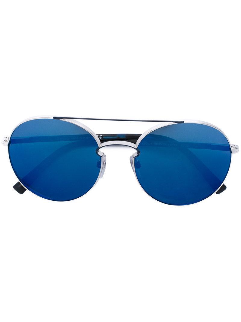 e73882fd7522e0 Lyst - Lunettes de soleil classiques Valentino Eyewear en coloris Bleu