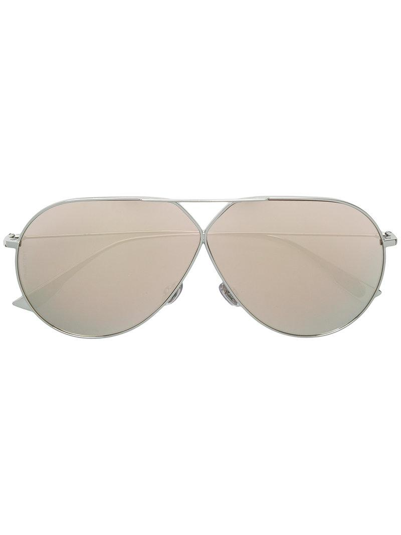 d7bb6c3249 Lyst - Dior Stellaire 3 Sunglasses in Metallic