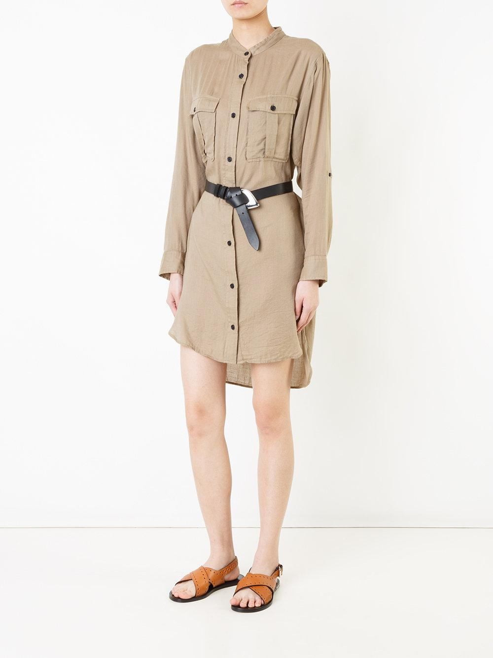 Lyst Toile Isabel Marant Shirt Dress In Natural