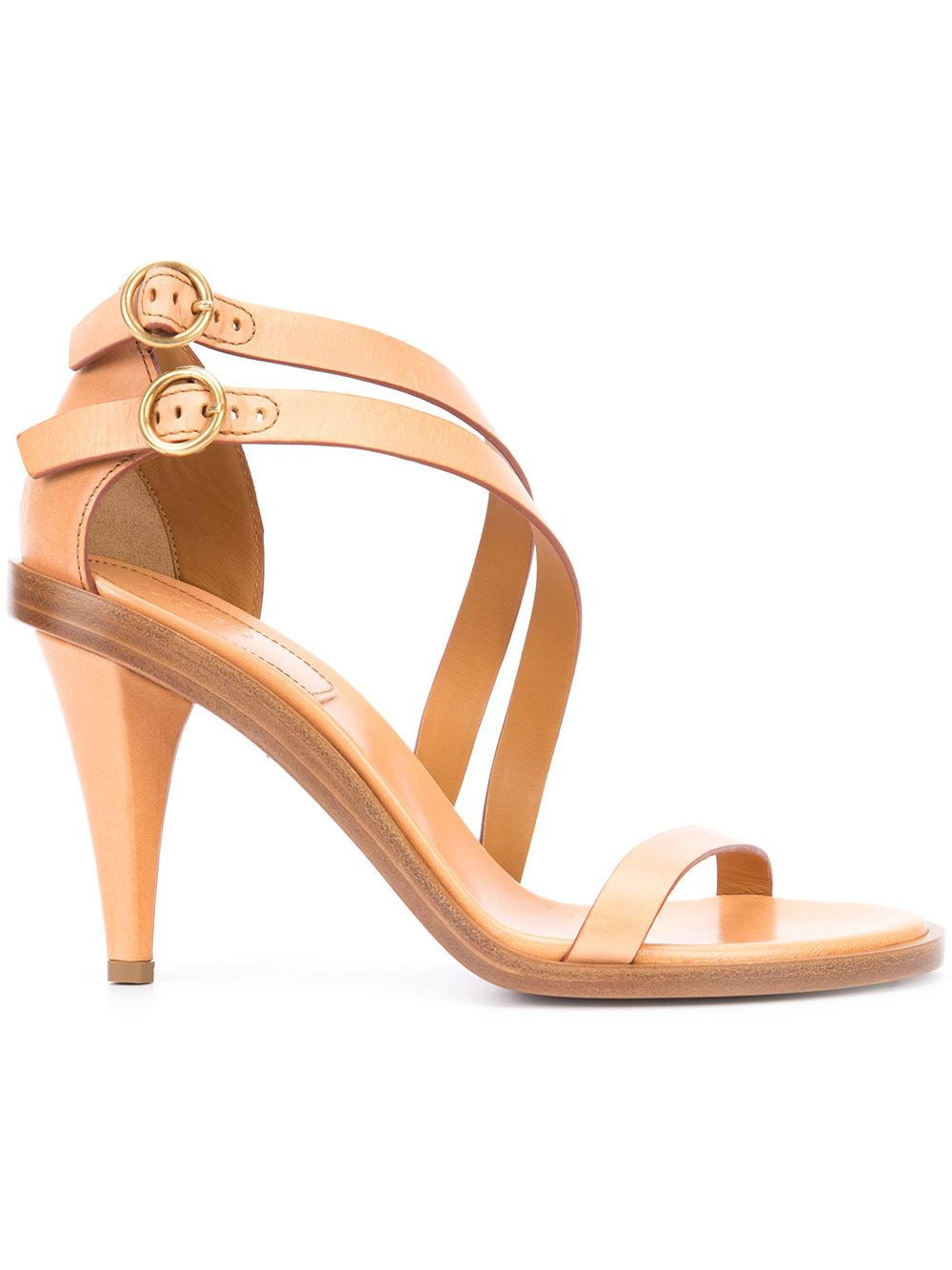 Lyst Chlo 233 Nico Sandals In Natural