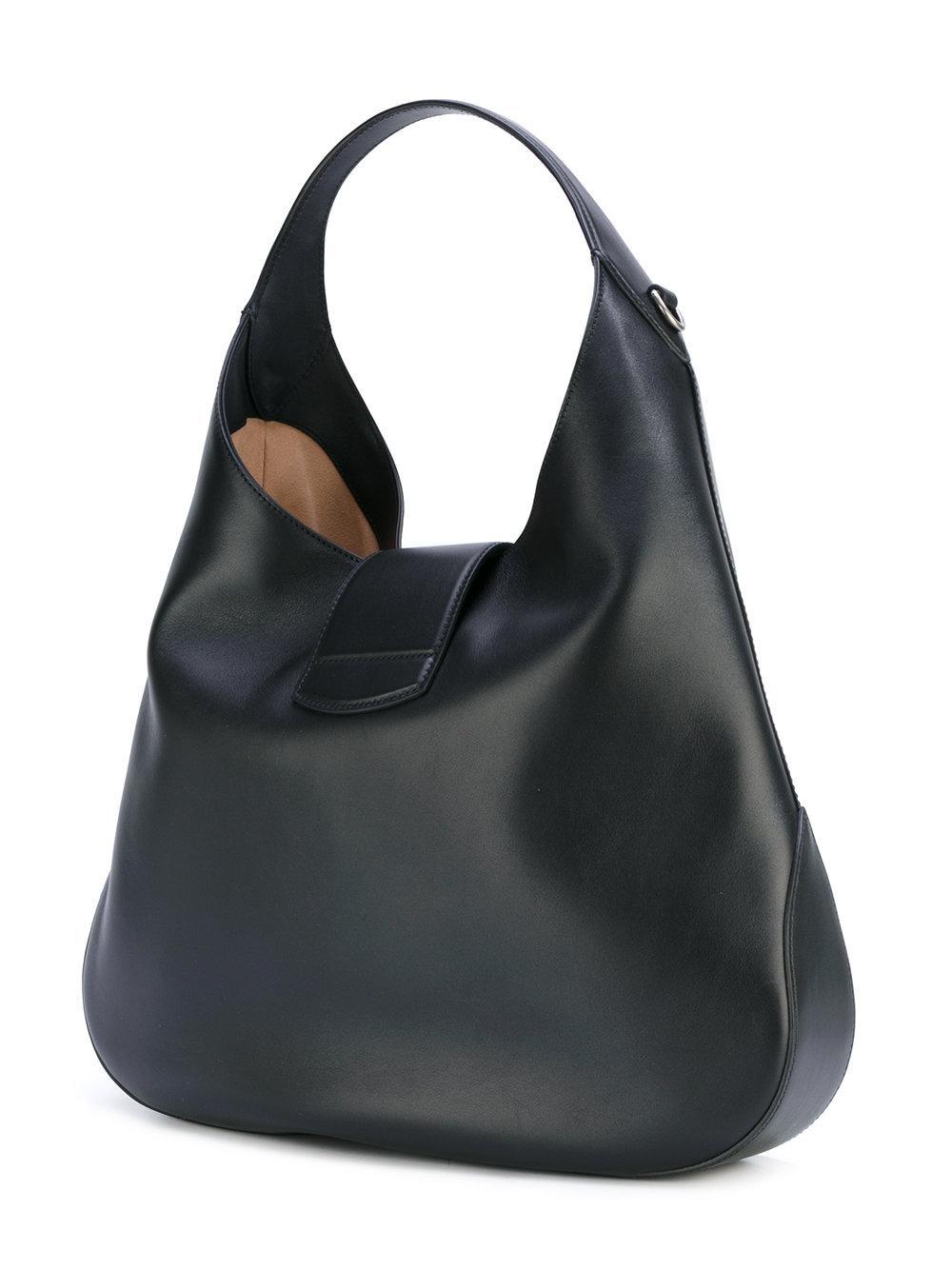 Lyst Gucci Slouch Shoulder Bag In Black