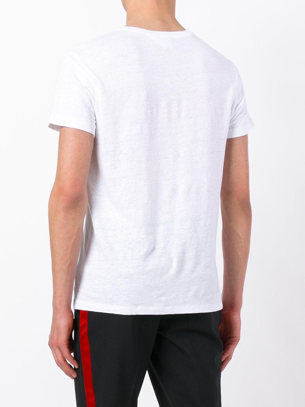 Lyst Harmony Paris Tavin T Shirt In White For Men