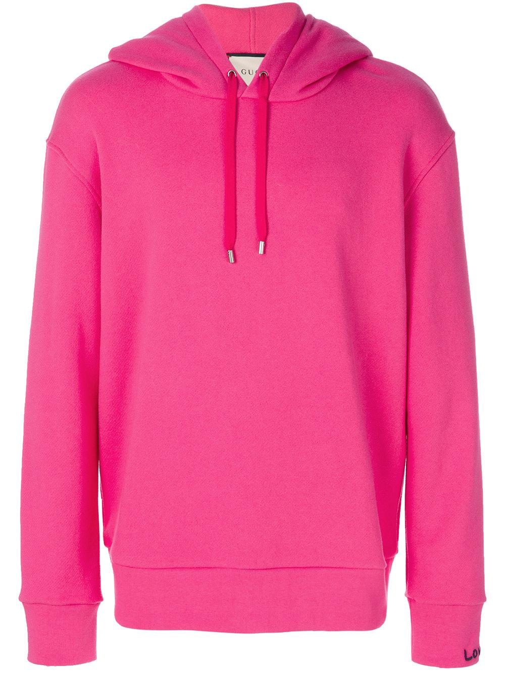 Lyst - Gucci Sweatshirt With Appliqué in Pink for Men