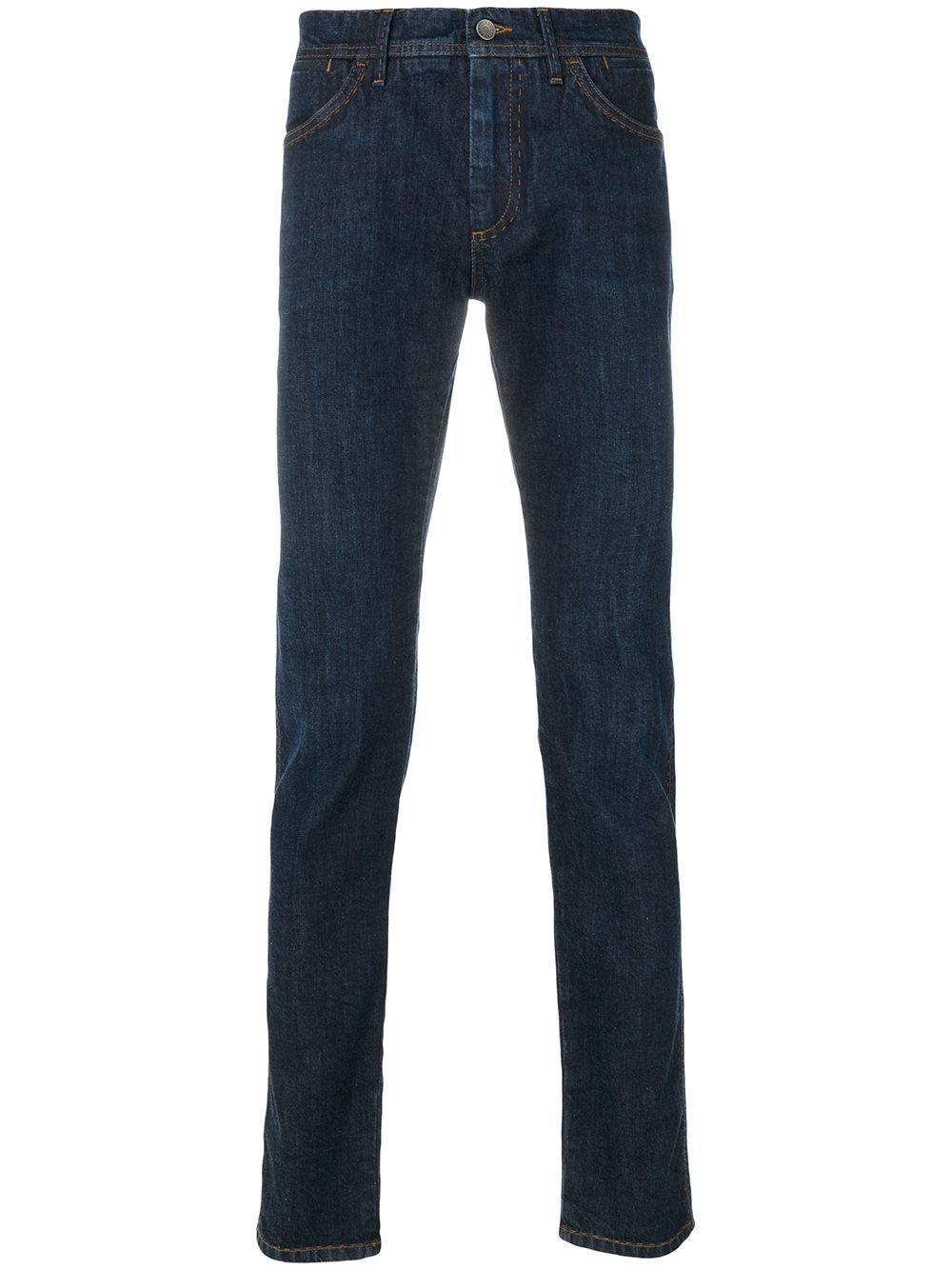 lyst dolce gabbana jeans vestibilit slim in blue for men. Black Bedroom Furniture Sets. Home Design Ideas