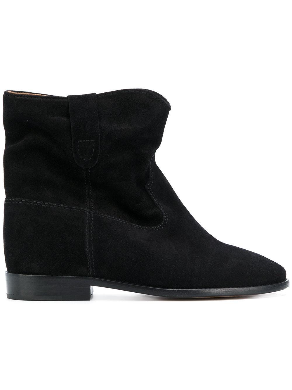 isabel marant crisi boots in black lyst. Black Bedroom Furniture Sets. Home Design Ideas