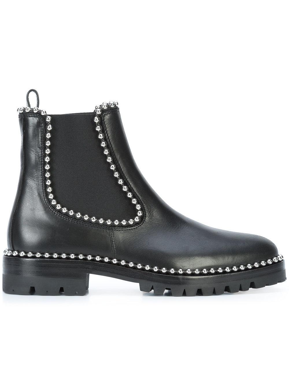 alexander wang spencer chelsea boots in black lyst. Black Bedroom Furniture Sets. Home Design Ideas