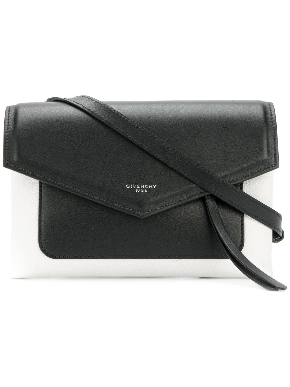 08fa2284957a Lyst - Givenchy Duetto Crossbody Bag in Black