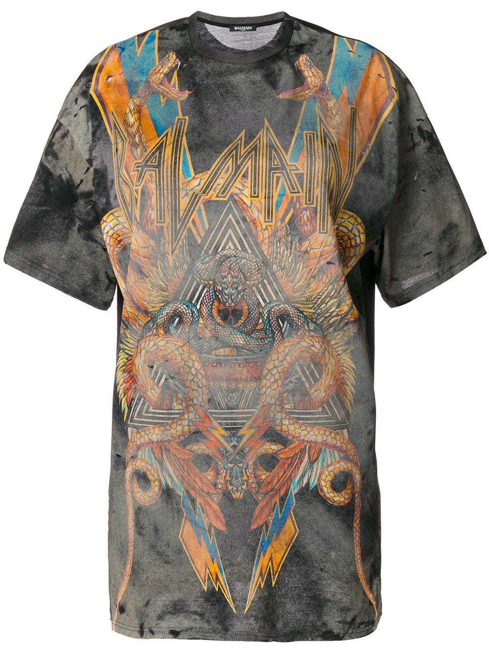 Sale Really 2018 Unisex Cheap Price graphic T-shirt - Multicolour Balmain Footlocker Finishline Online Fashionable Online a6BOuI4