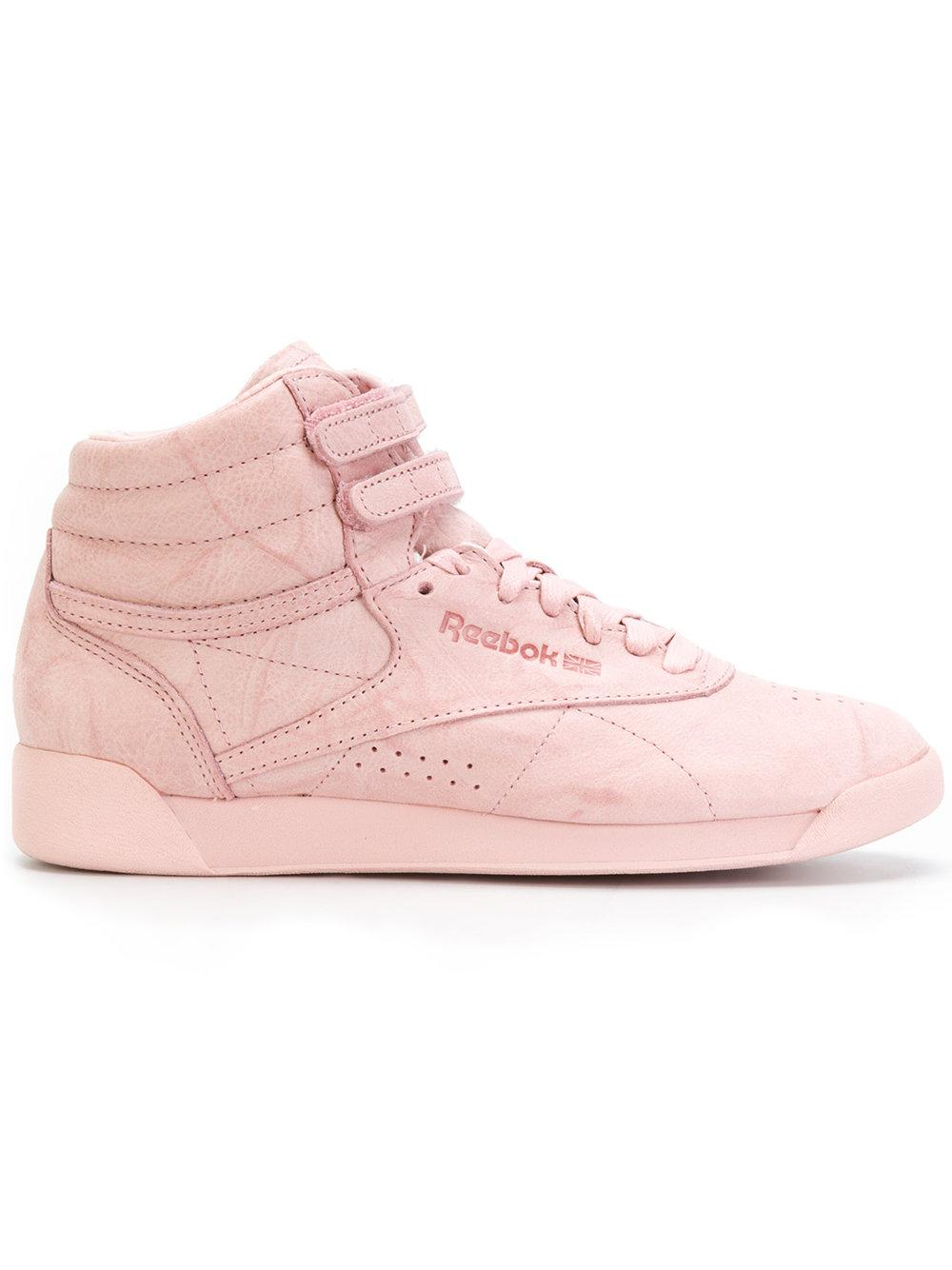 Reebok Freestyle Hi FBT Woman Pink