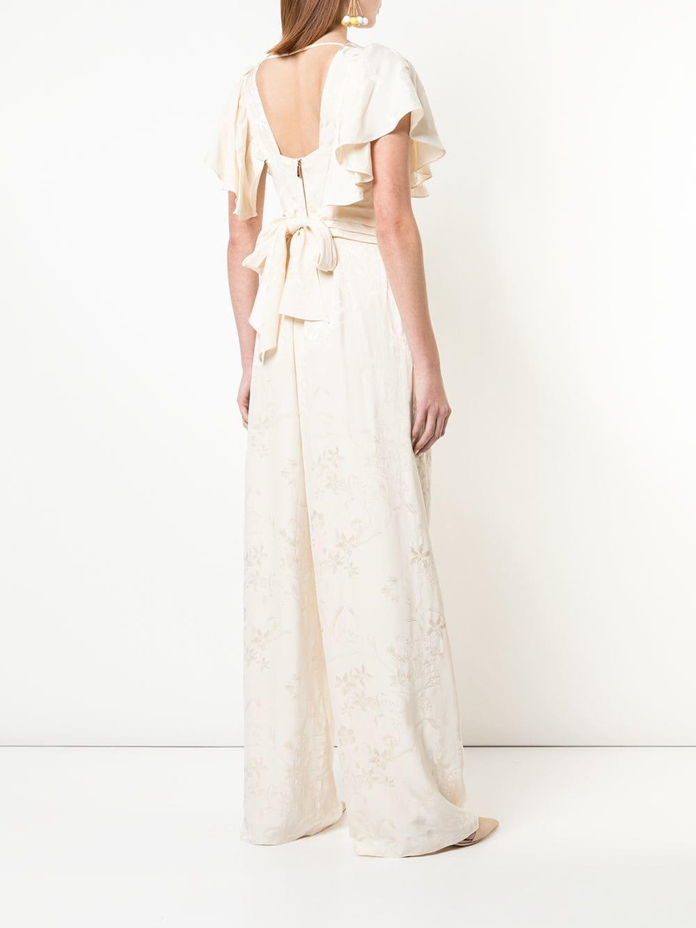 78abbad828 Johanna Ortiz - Multicolor Floral Print Jumpsuit - Lyst. View fullscreen