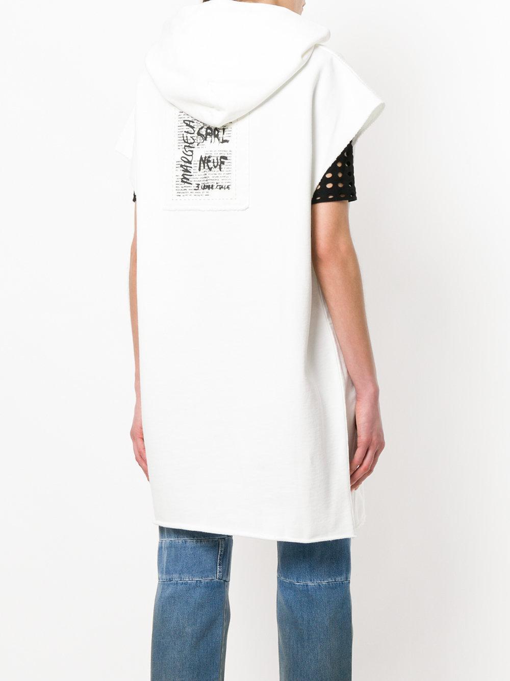 printed hoodie dress - White Maison Martin Margiela RDBS3T9ik
