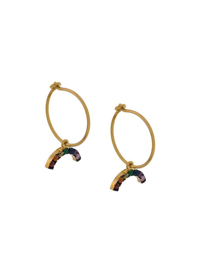 Womens Stars Orbit Earrings Ileana Makri 8uXfDrkD