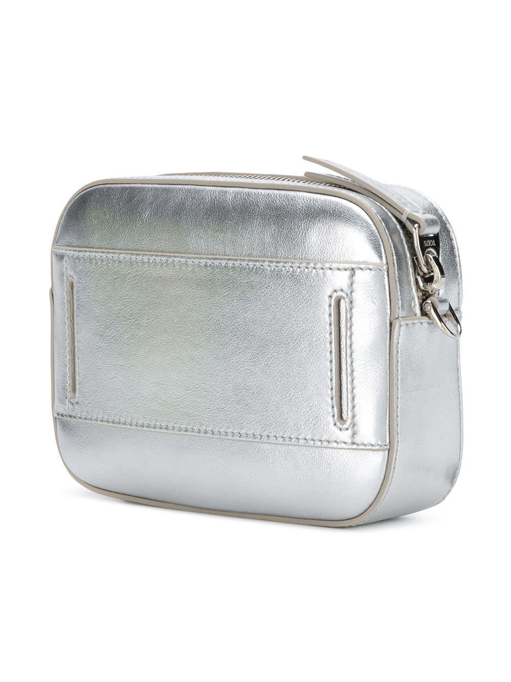 e296ea00df Tod S Metallic Belt Bag in Metallic - Save 18.032786885245898% - Lyst