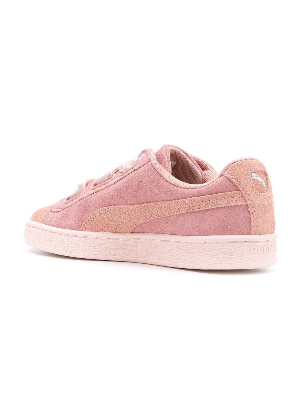 Puma embroidered floral low top sneakers - Pink & Purple farfetch rosa
