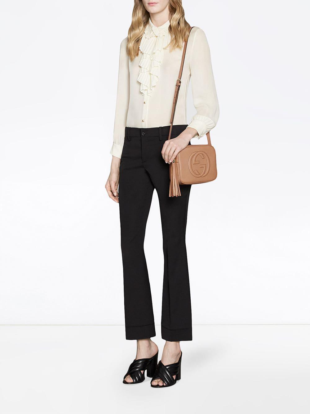 fc334c7d539c Lyst - Gucci Soho Small Leather Disco Bag