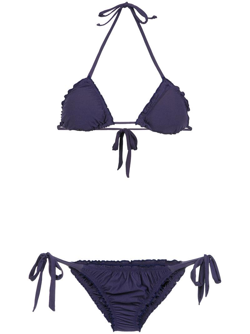 Flamingo bikini - Blue OLYMPIAH Cheap Price Top Quality Discount 2018 Free Shipping Get To Buy Clearance Best Sale Cheap Sale Big Discount sTN5RH