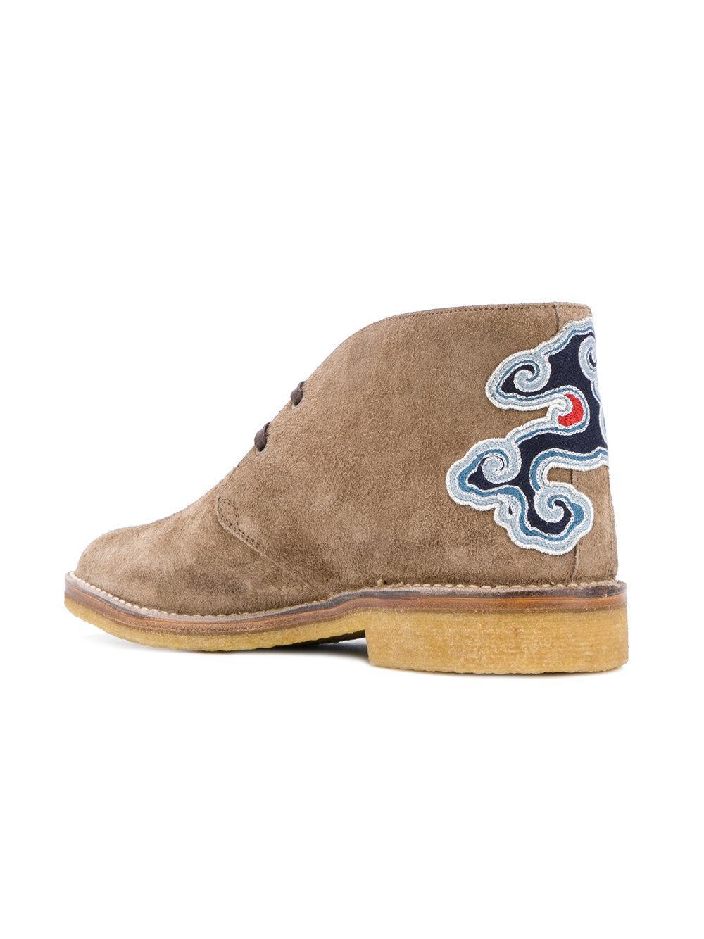 Gucci Tiger's head appliqué boots HzJjo3TP