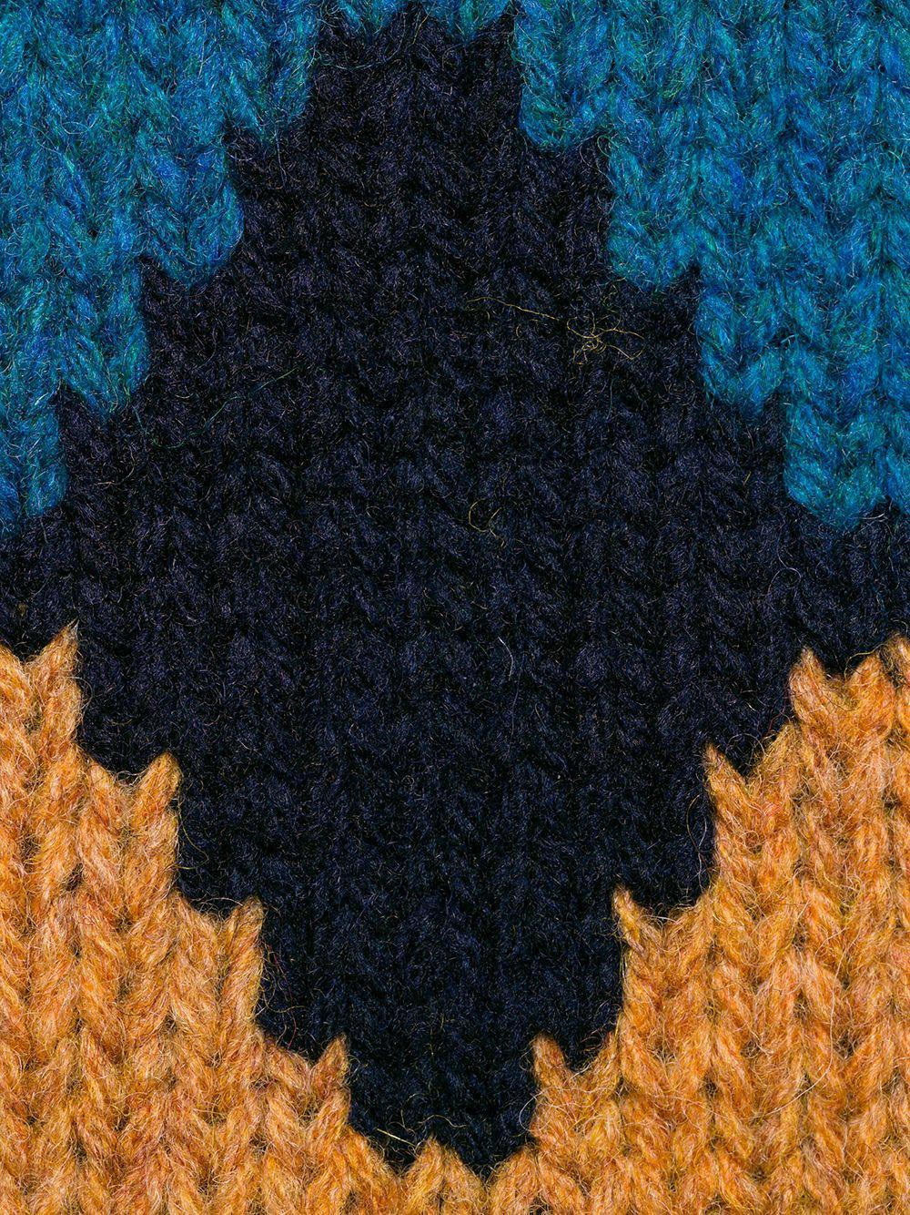 3ba665a0d Blue Design Lyst Prada para suelto hombre Sweater Rhomb gFEpqwC