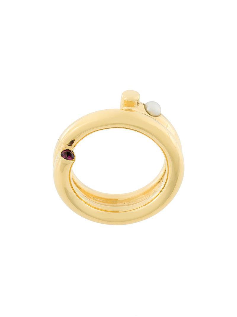 Maria Black Genie ring - Metallic 79aAAxpkHn