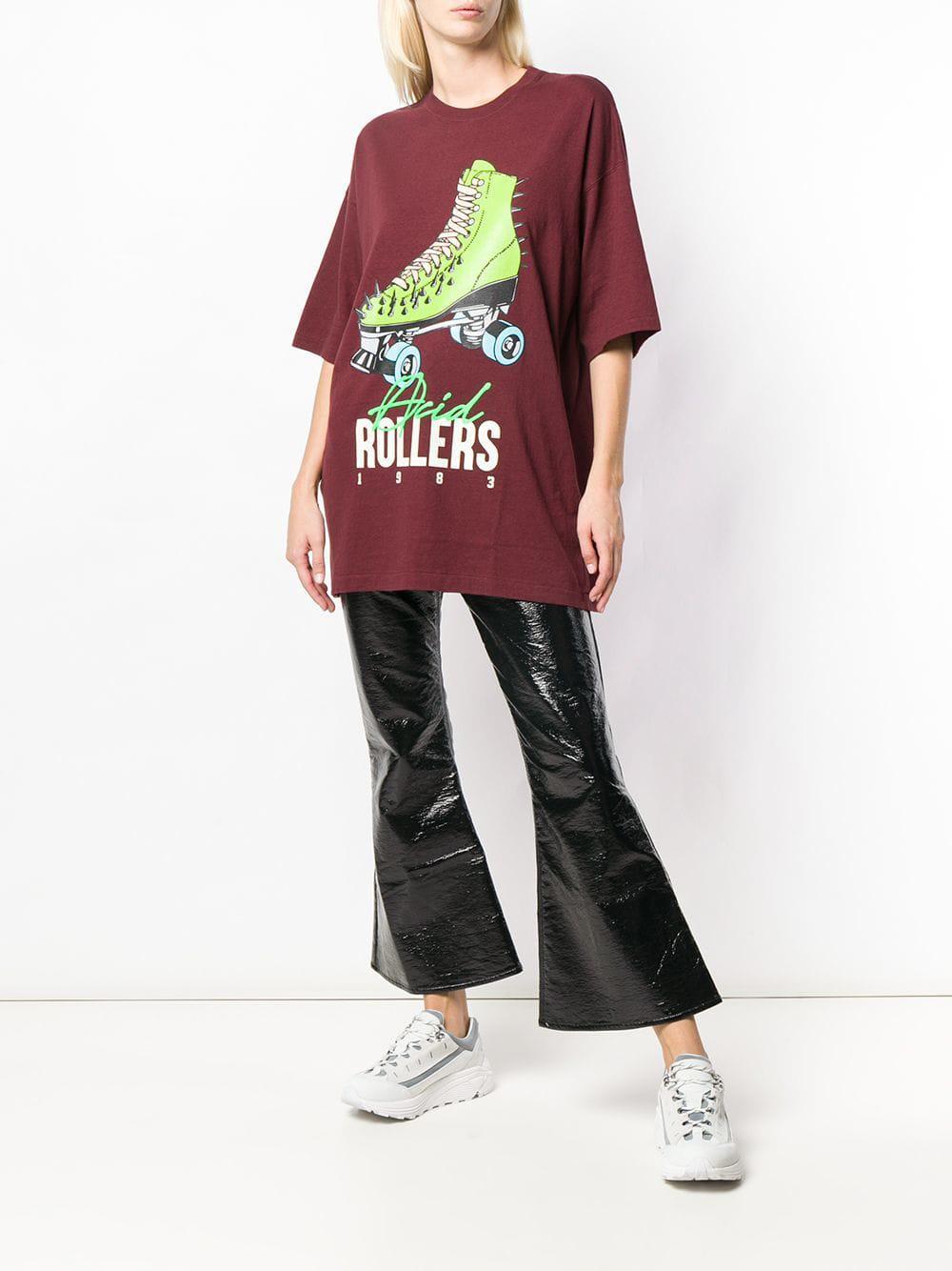 Undercover - Red Roller Skate Print T-shirt - Lyst. View fullscreen 684794e9f59