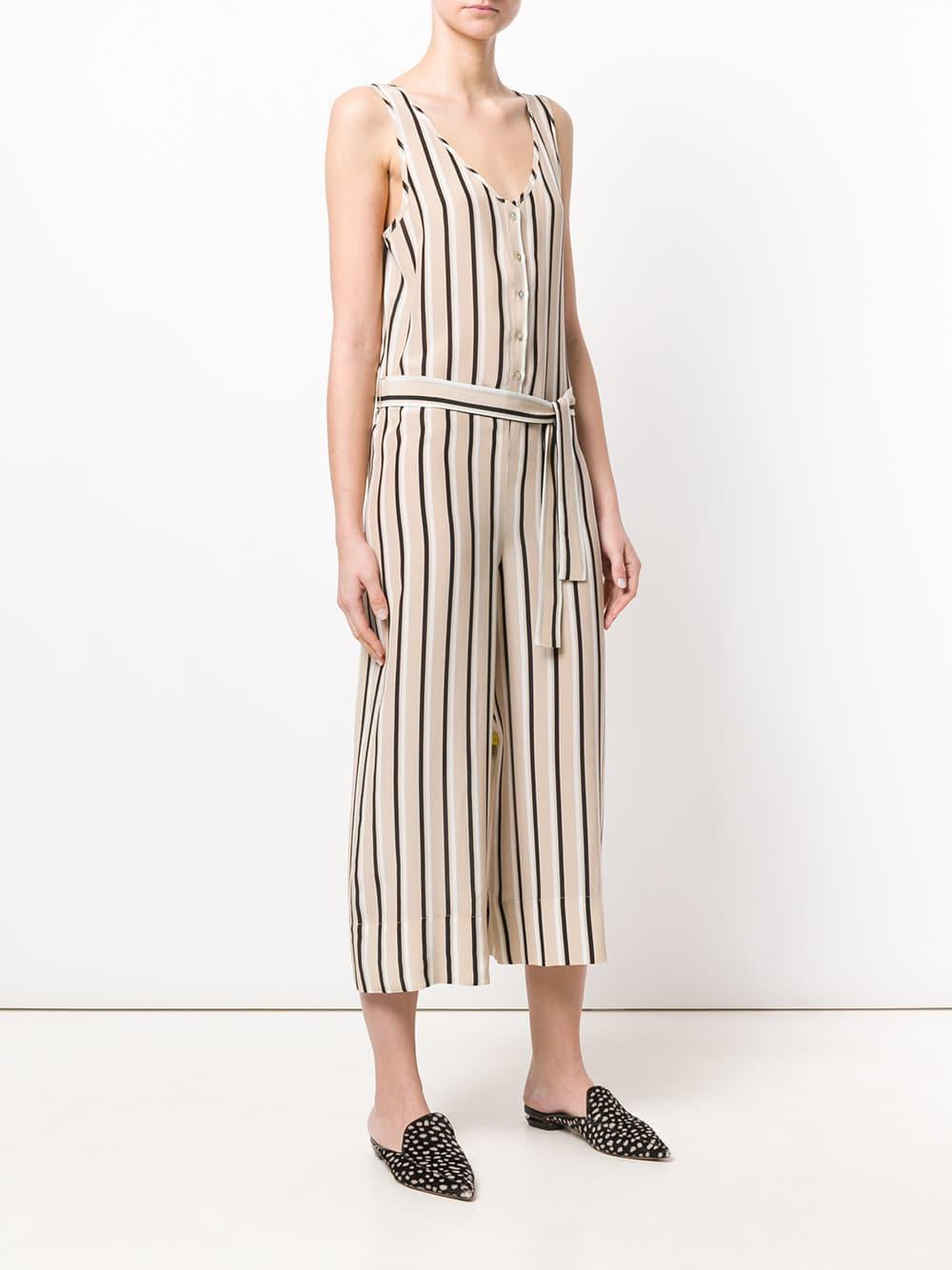 2cc053cd082 Asceno - Multicolor Striped Tailored Jumpsuit - Lyst. View fullscreen