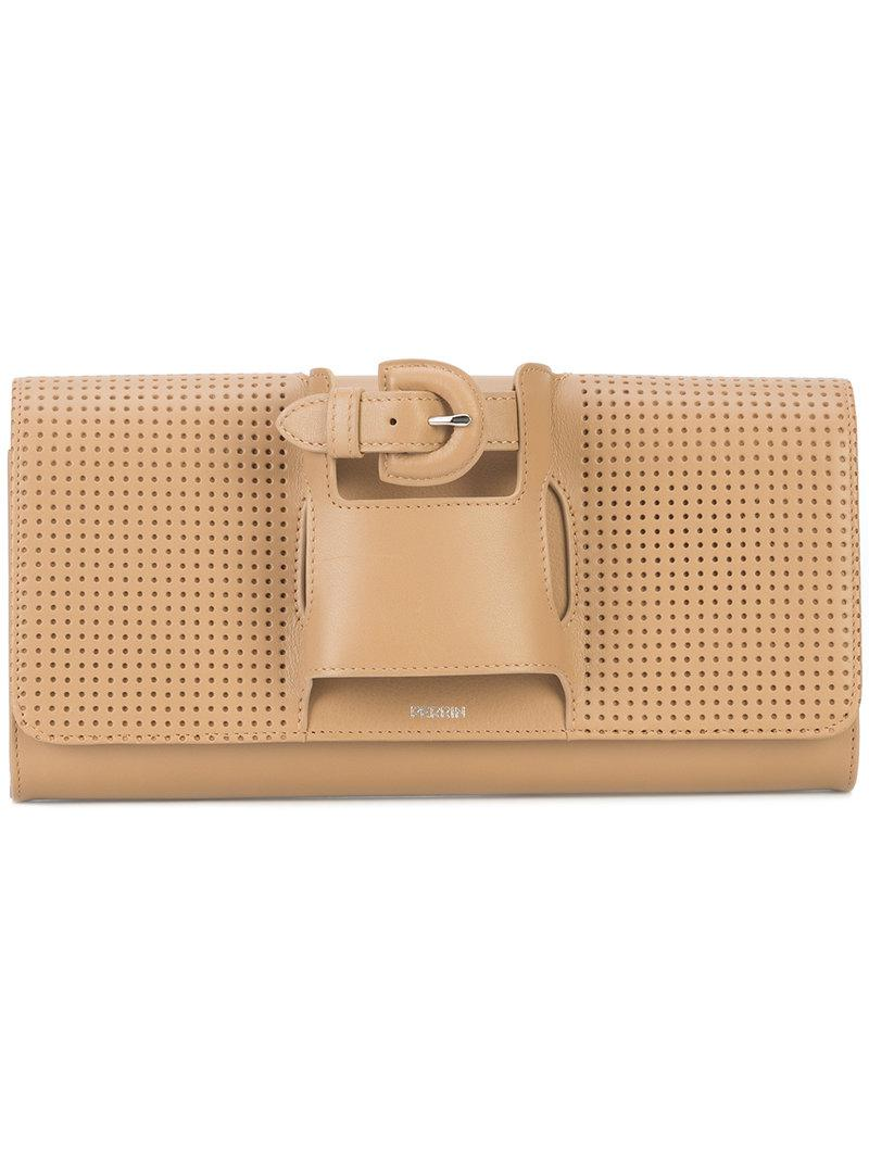 Perrin Paris studded glove clutch bag Cheap Wholesale Price Buy Cheap For Cheap Free Shipping Comfortable jFiGA4