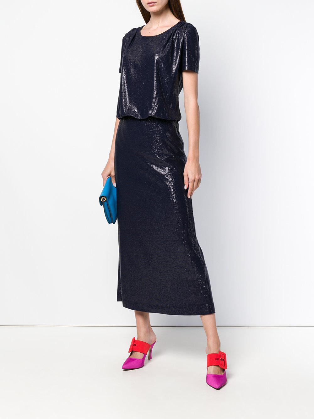 97354e4e61 love-moschino-Blue-Short-sleeve-Fitted-Dress.jpeg