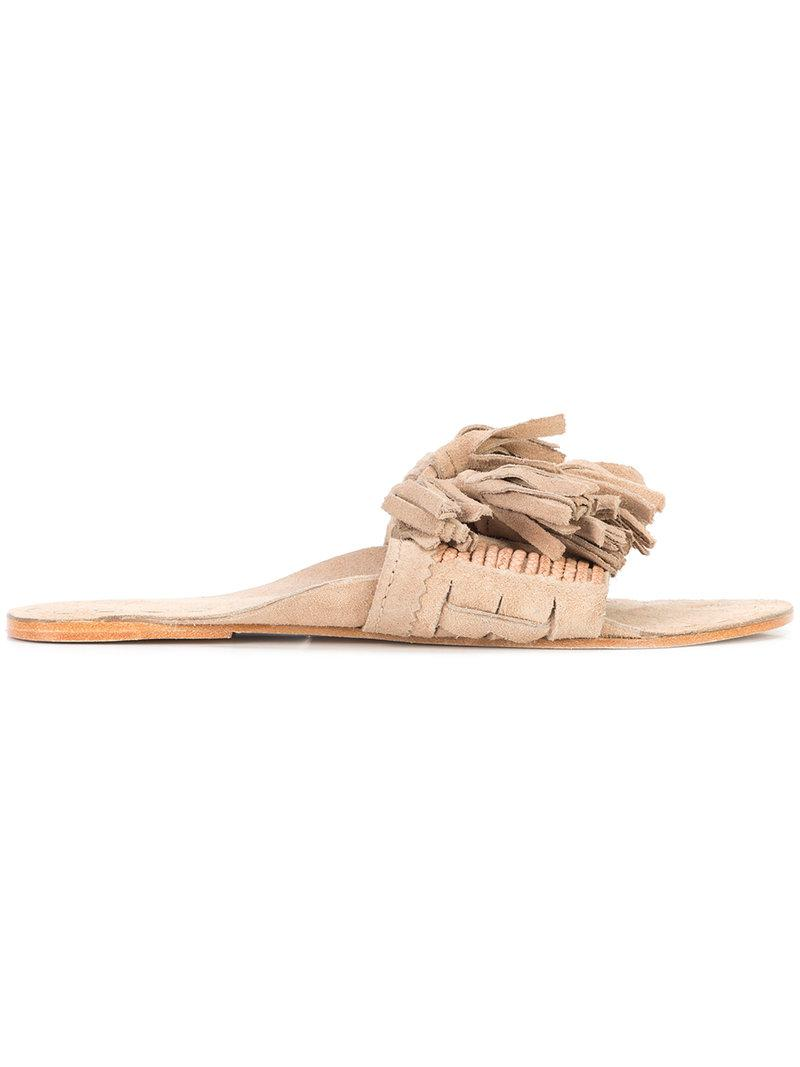 Noona tasseled sandals - Brown Figue v0EwnEyJy