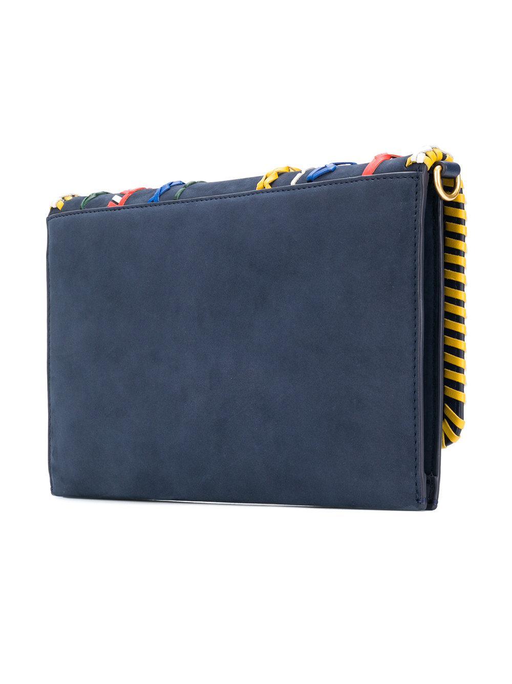 fd1fb42355d662 Lyst - Pochette Kira Tory Burch en coloris Bleu