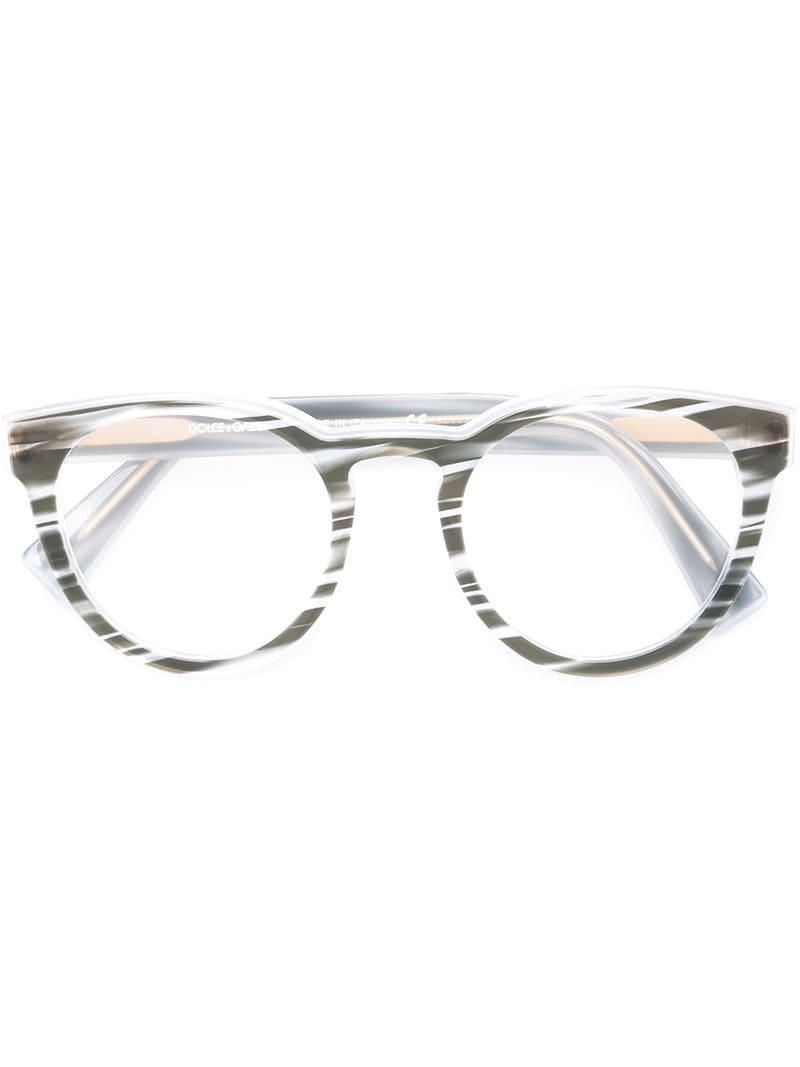 23d2b7ede4c Dolce   Gabbana Gradient Frame Glasses - Save 1.5463917525773212% - Lyst