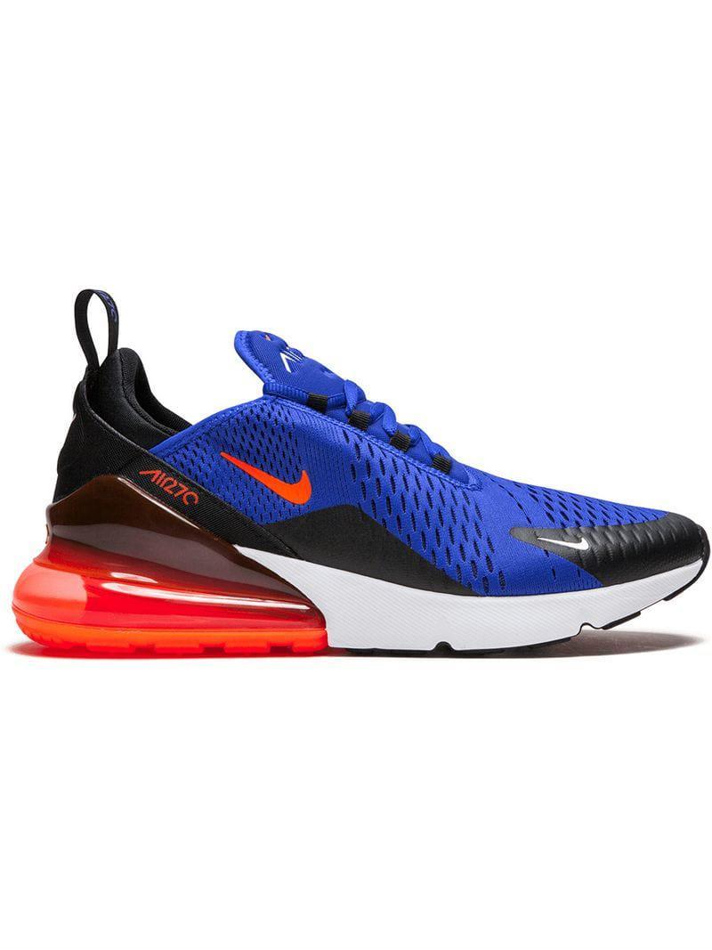 big sale 7d39c c7fd0 Nike 'Air Max 270' Sneakers in Blau für Herren - Lyst