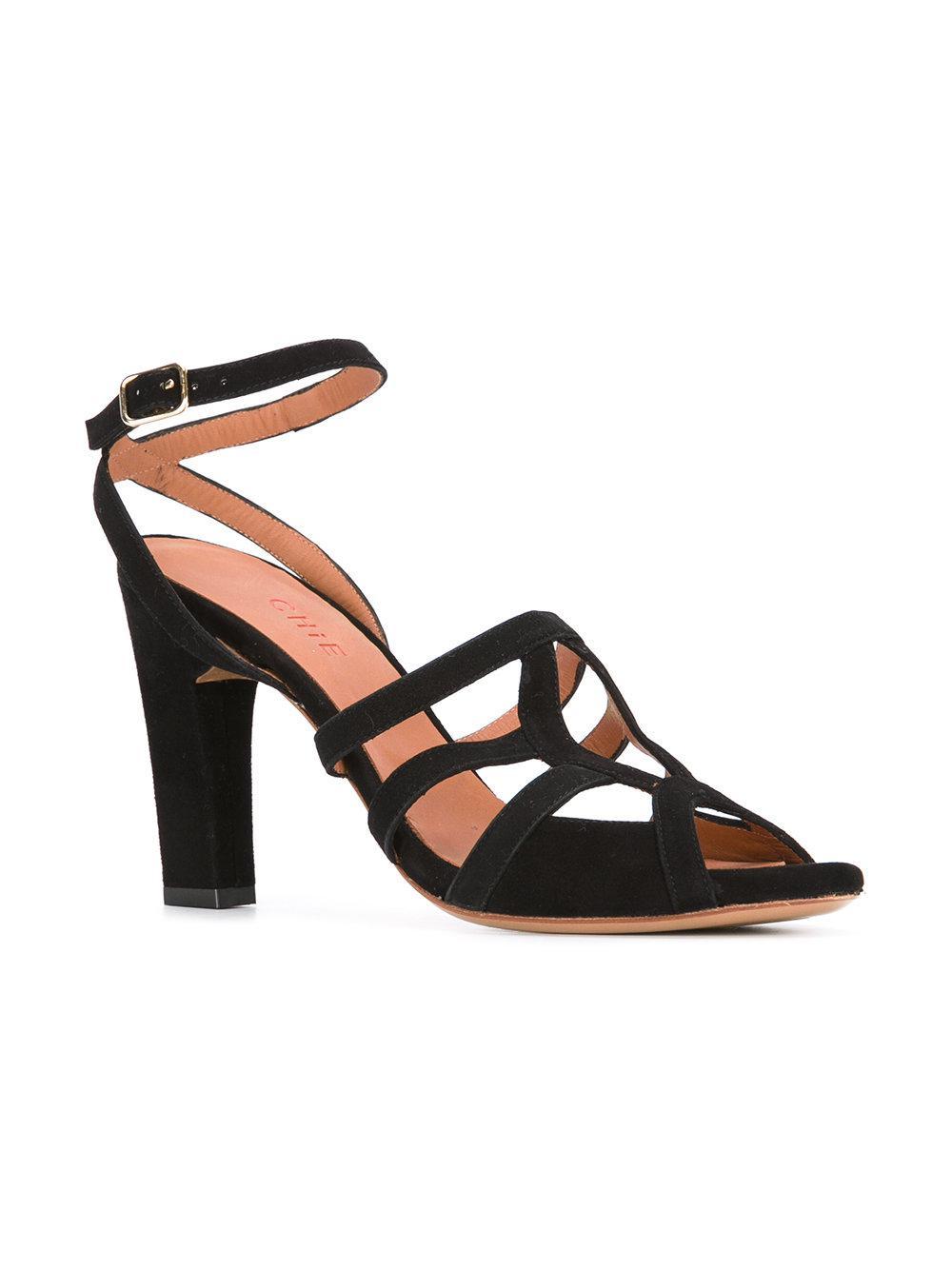 Saphira sandals - Black Chie Mihara kfbD3iSP