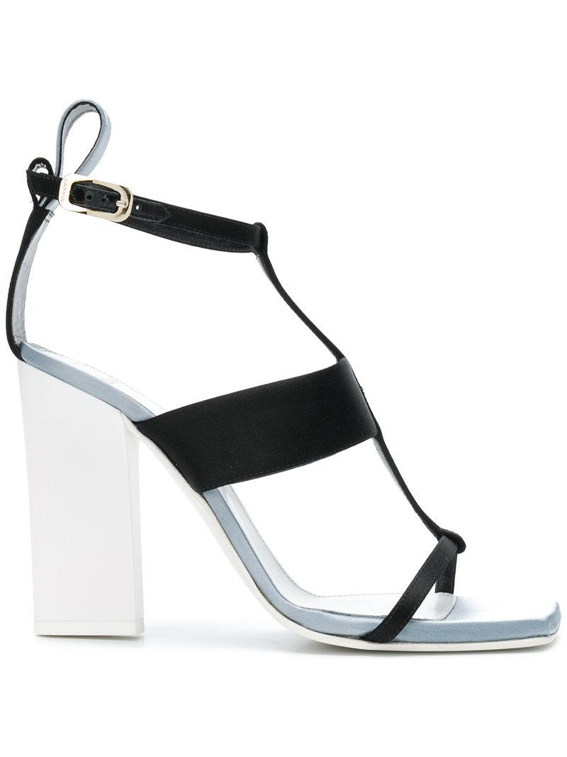 open-toe strappy sandals - Black Lanvin kf30Go