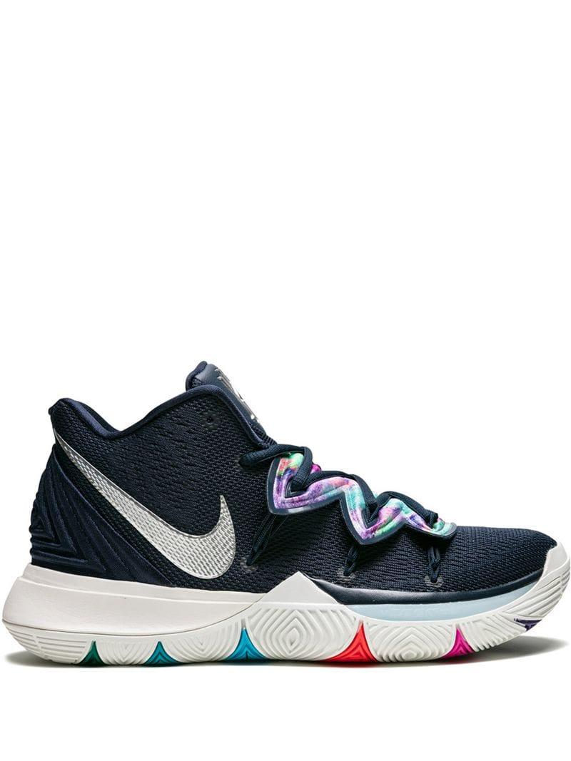 1bbc548f5b4b Nike Kyrie 5 Sneakers in Blue for Men - Lyst