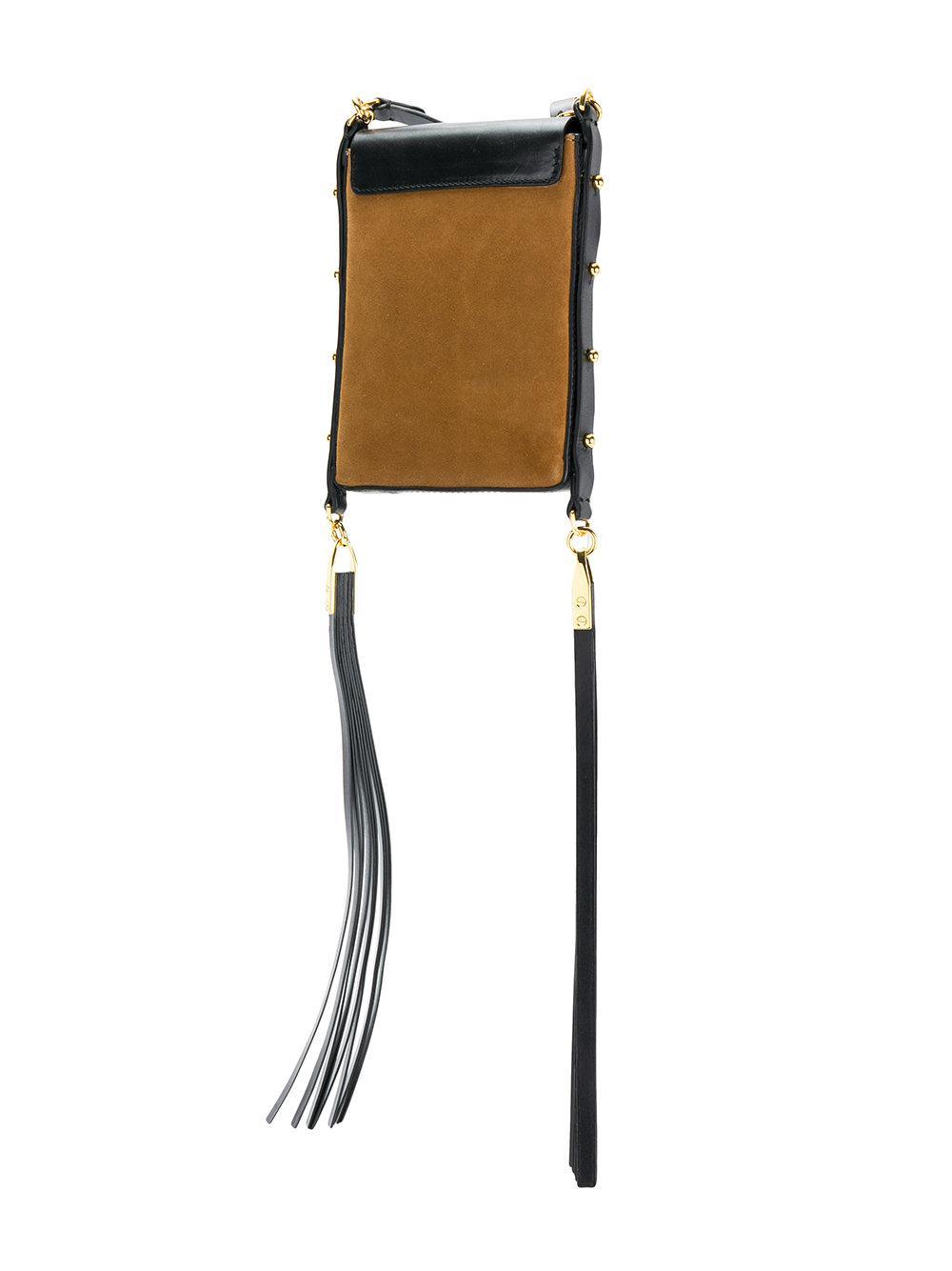 tassel trim crossbody bag - Brown Isabel Marant Bpou5vxR