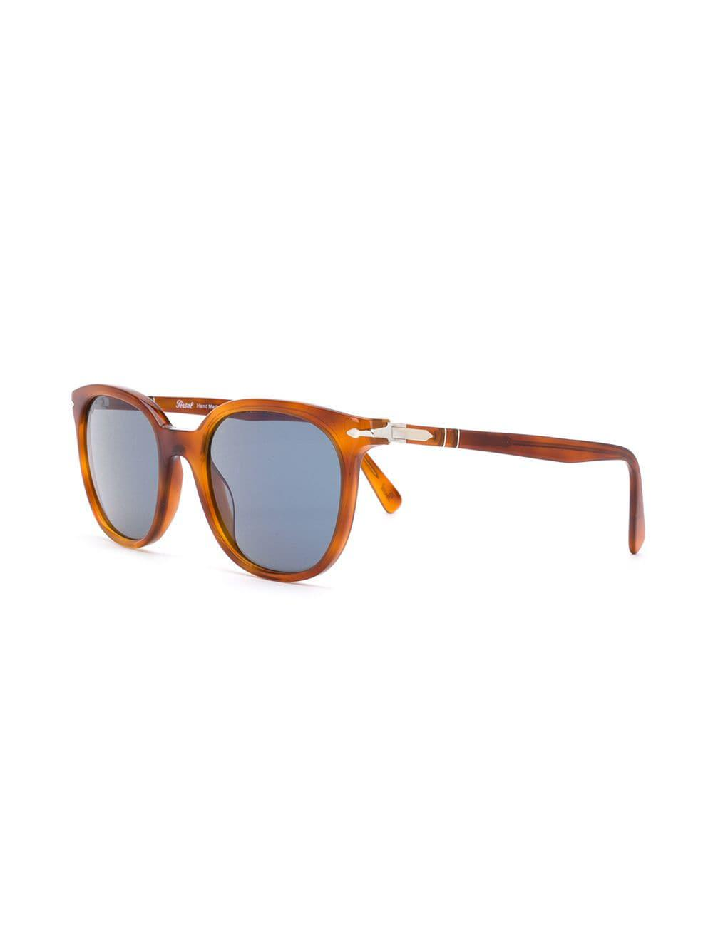 131f67ac5c Persol Square Frame Sunglasses in Brown for Men - Lyst