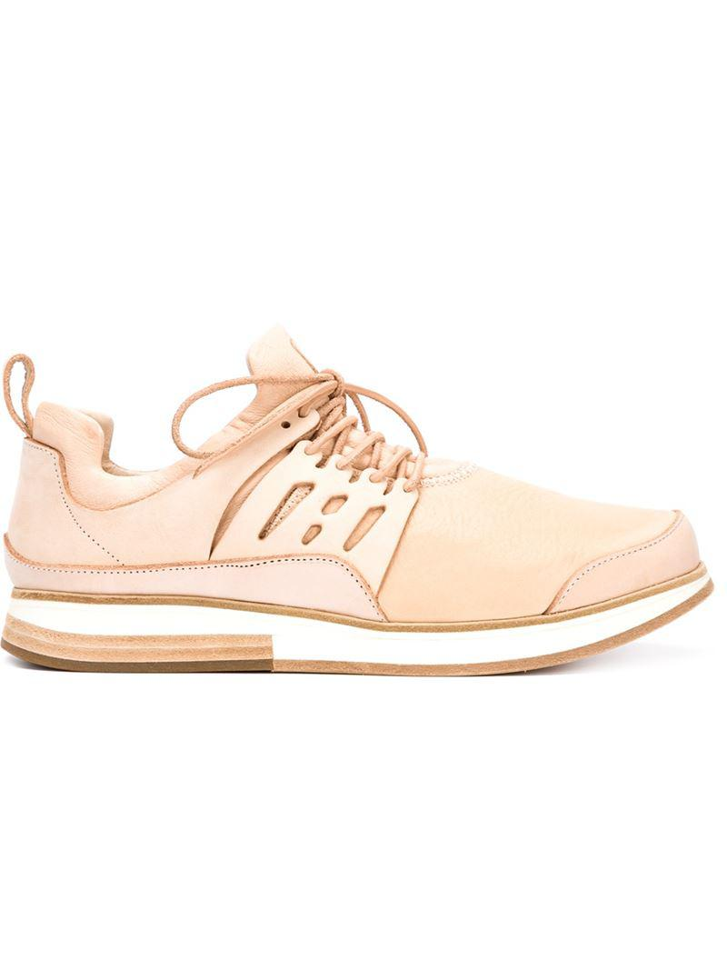 MI-P12 lace-up sneakers - Nude & Neutrals HENDER SCHEME 5pQEovnaV