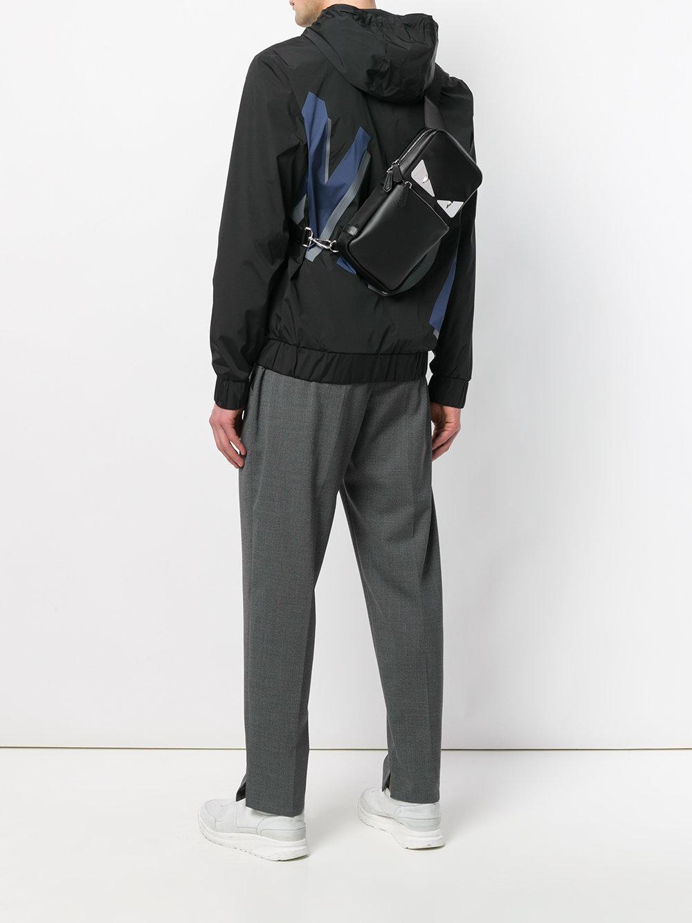a2a6abb232fa Lyst - Fendi Bag Bugs-eyes Backpack in Black for Men