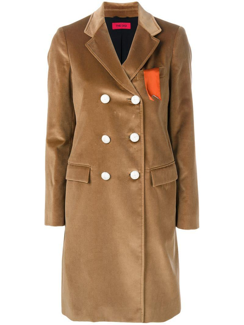 In Breasted Coat The Gigi 16 Natural 599190283400816 Double Save fwqZIxCZ