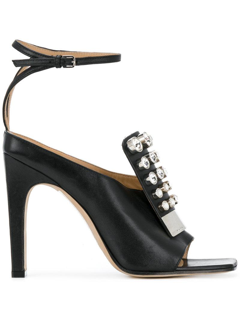 SR1 strappy sandals - Black Sergio Rossi