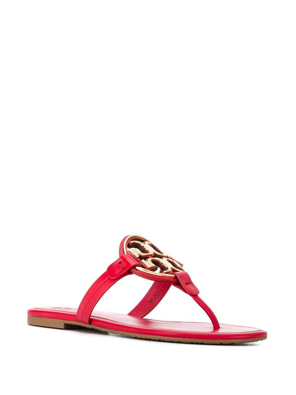 9e289c170 Tory Burch - Red Miller Sandals - Lyst. View fullscreen