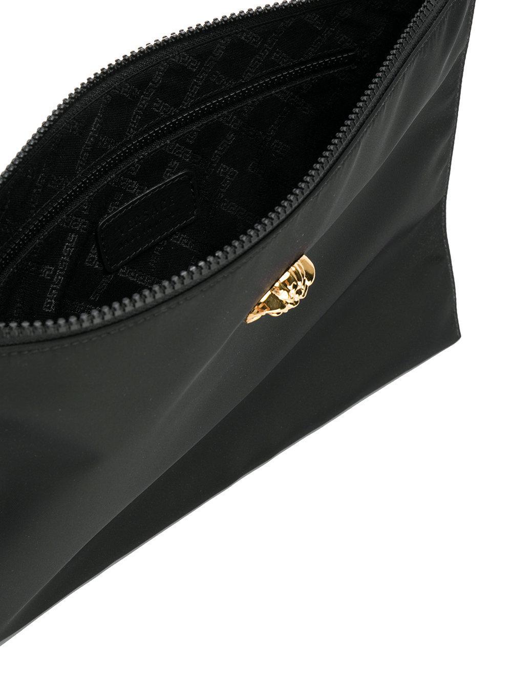 Versace Medusa Head Clutch Bag in Black for Men - Lyst 13bdfff48e