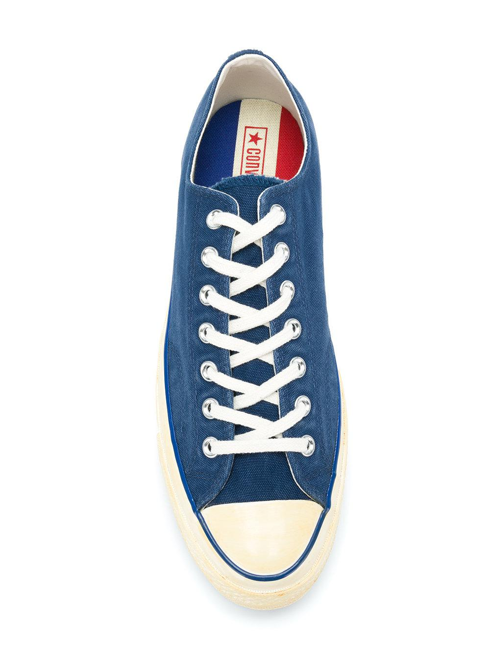 f924ace61f61 Lyst - Converse Classic Lace-up Sneakers in Blue for Men