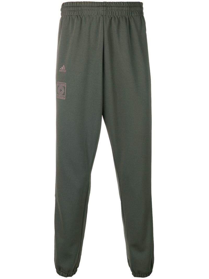 d89106bc7 Yeezy Calabasas Track Pants in Green for Men - Lyst