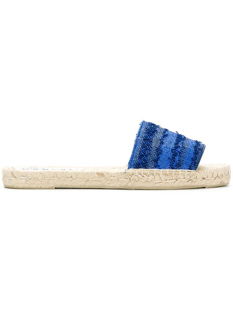 Manebi Sandales Yucatán - Bleu SL2xpxC2R