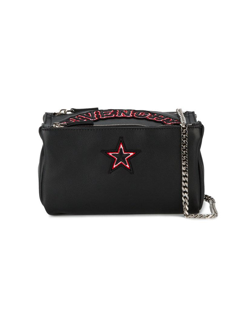 Lyst - Givenchy Mini Pandora Shoulder Bag in Black - Save 26% 4a09cf1ef23f3