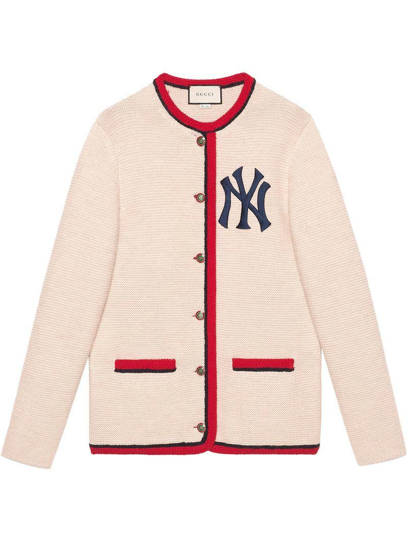 c48a3125268c8 Gucci - Multicolor Cardigan With New York Yankees Tm Patch - Lyst. View  fullscreen